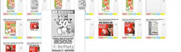 Echtzeit Web2Print-System HTML5