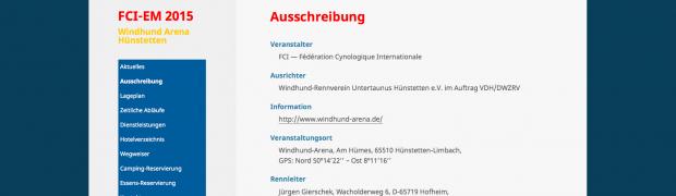 Dreisprachige Wordpress-Seite mit Reservierungs-System